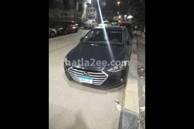 Elantra AD Hyundai الأزرق الداكن