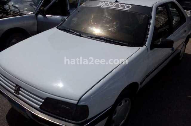 405 Peugeot أبيض