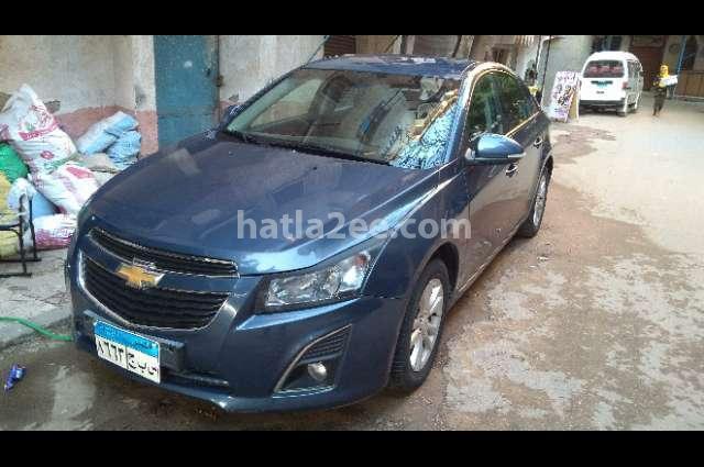 Cruze Chevrolet Dark blue
