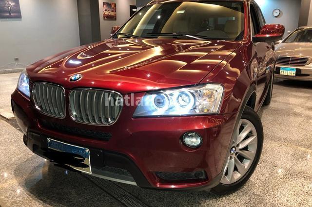X3 BMW احمر