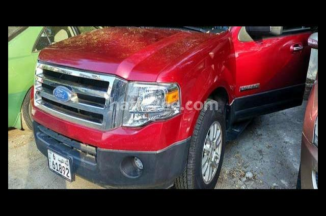 Expedition Ford Red