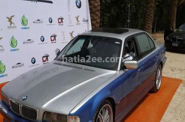 740 BMW رمادي