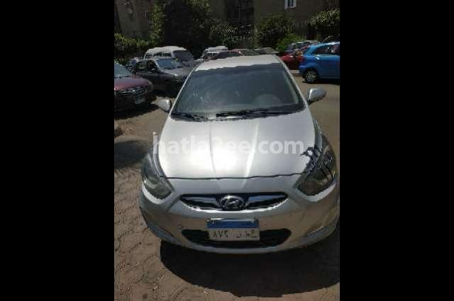 Accent RB Hyundai فضي