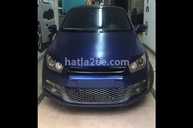 Scirocco Volkswagen أزرق