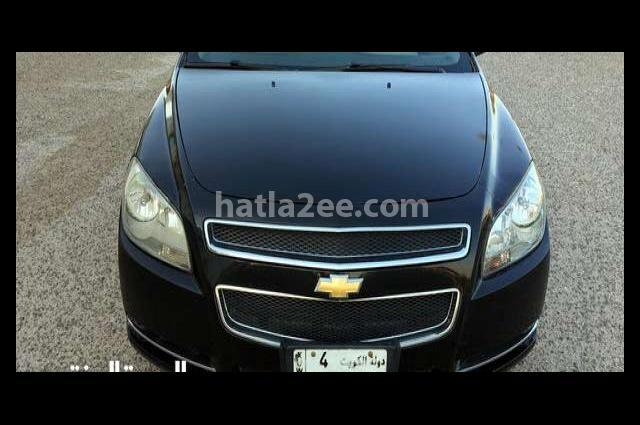 Malibu Chevrolet أسود
