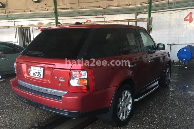 Sport Land Rover احمر غامق