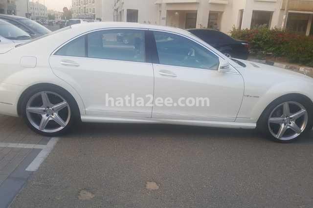 S 550 Mercedes أبيض