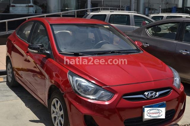 Accent RB Hyundai احمر غامق