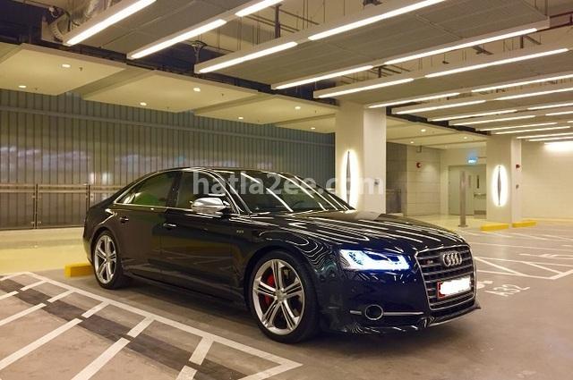 S8 Audi أسود
