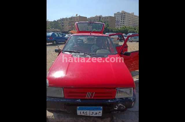 Uno Fiat Red