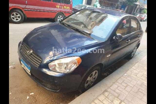 Accent Hyundai أزرق