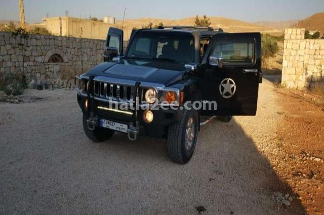 H 3 Hummer أسود