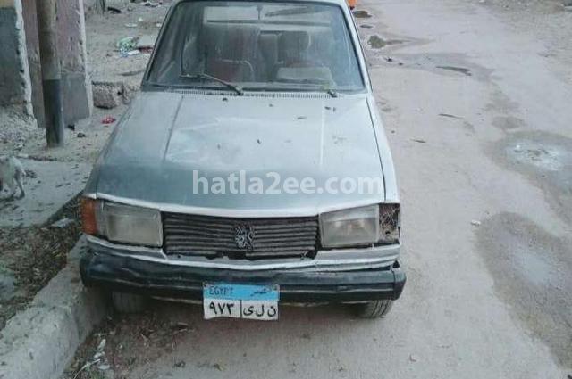 305 Peugeot فضي