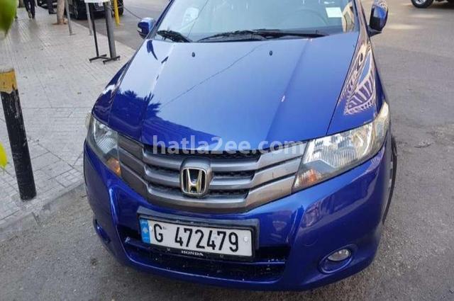 City Honda أزرق