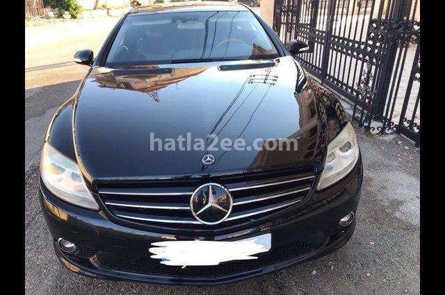 CL Class Mercedes أسود
