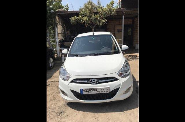 I10 Hyundai أبيض