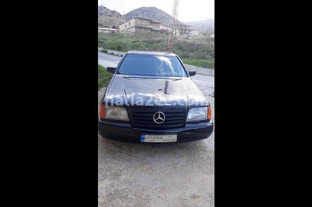 500 Mercedes أسود