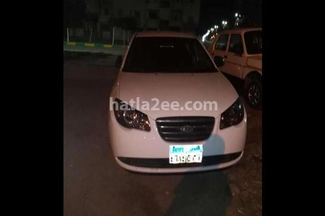 Elantra HD Hyundai أبيض