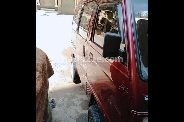 Van Suzuki احمر غامق