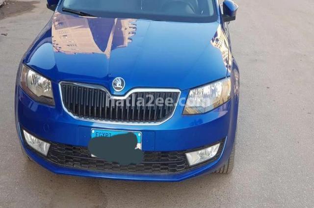 Octavia A7 Skoda Blue