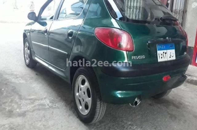 206 Peugeot Dark green