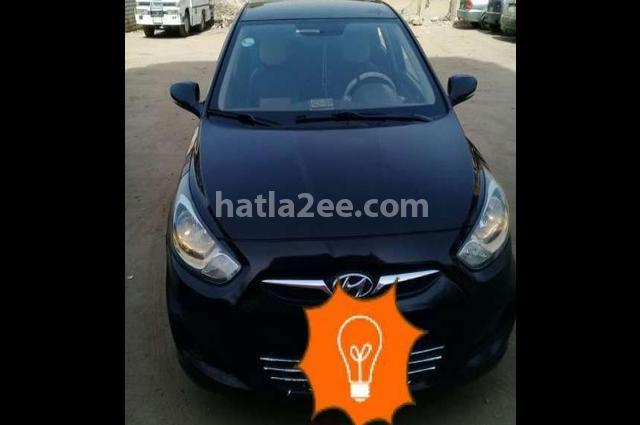 Accent Hyundai Black