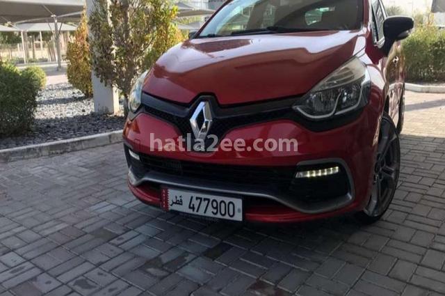 Clio Renault احمر