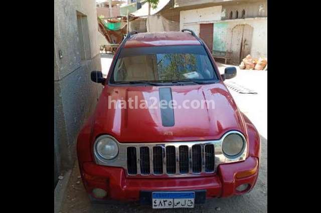 Liberty Jeep احمر