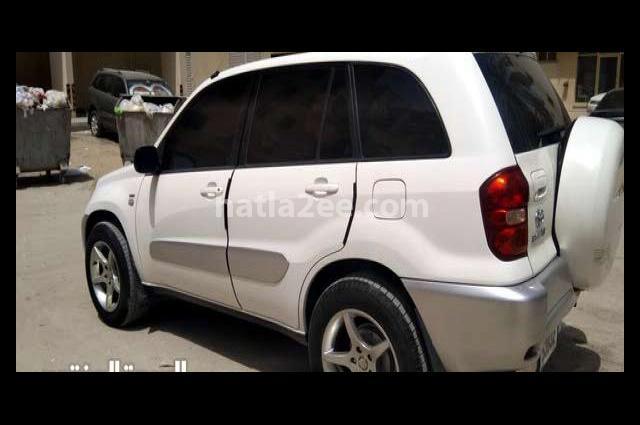 Rav 4 Toyota White