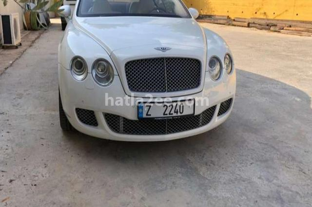 Continental GT Bentley أبيض