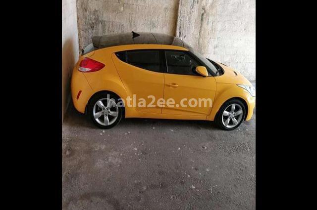 Veloster Hyundai اصفر