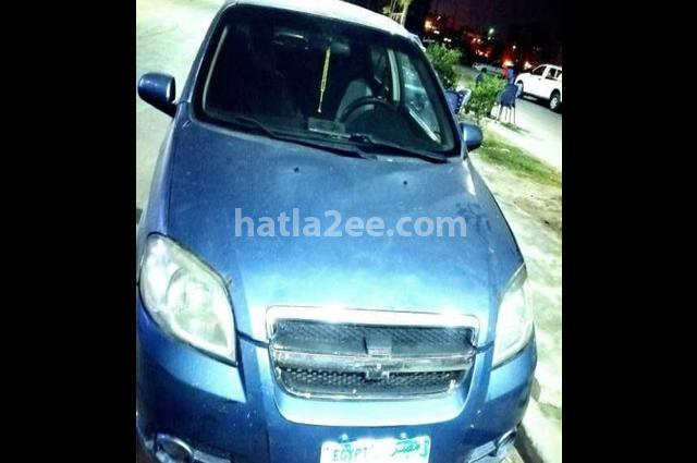 Aveo Chevrolet Dark blue
