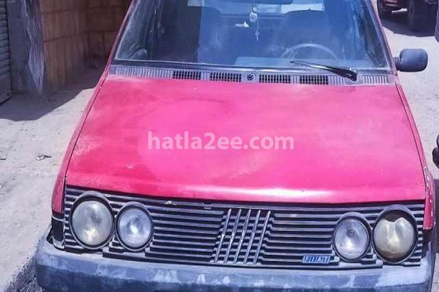 Ritmo Fiat Dark red