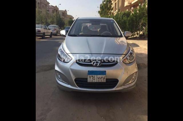 Accent Hyundai Silver