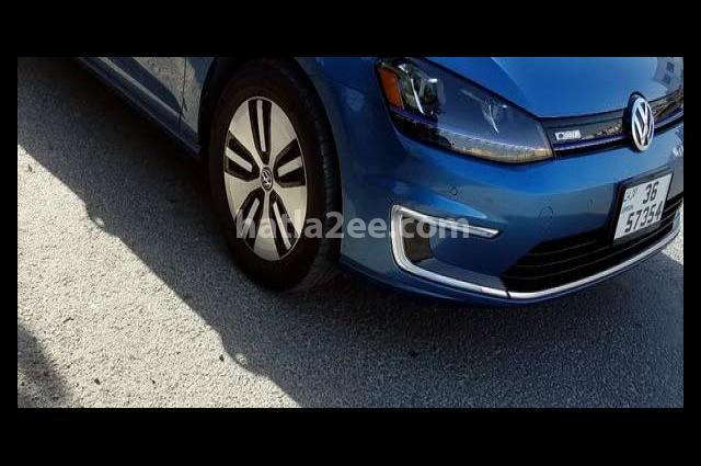 E Golf Volkswagen Blue