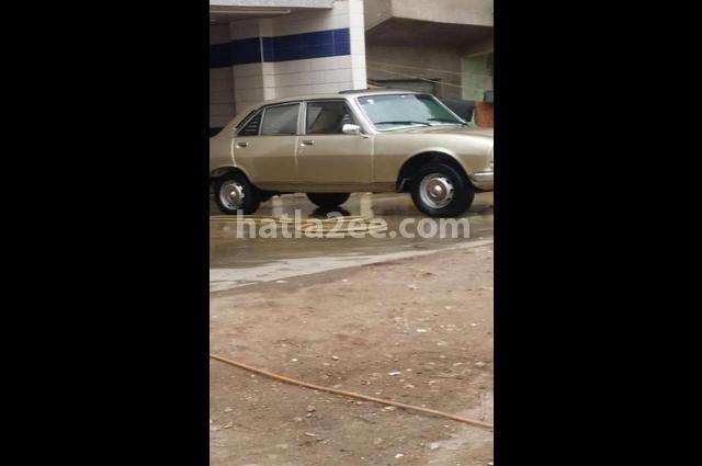 504 Peugeot ذهبي
