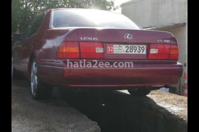 Ls Lexus احمر غامق