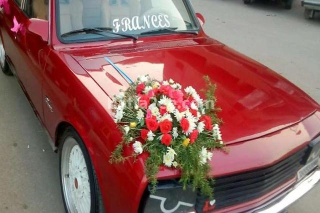 504 Peugeot احمر