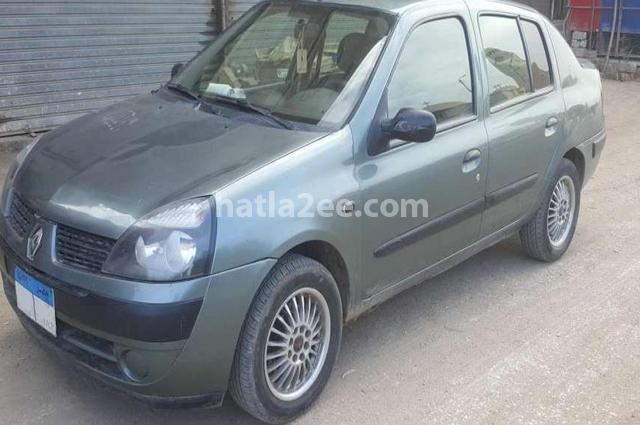 Clio Renault أخضر