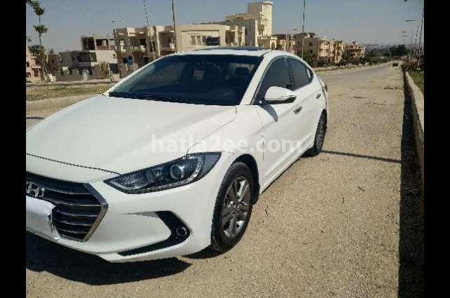 Elantra AD Hyundai أبيض