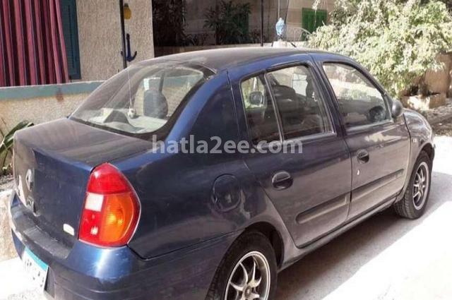 Clio Renault أزرق