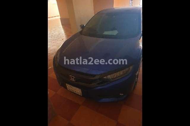 Civic Honda أزرق