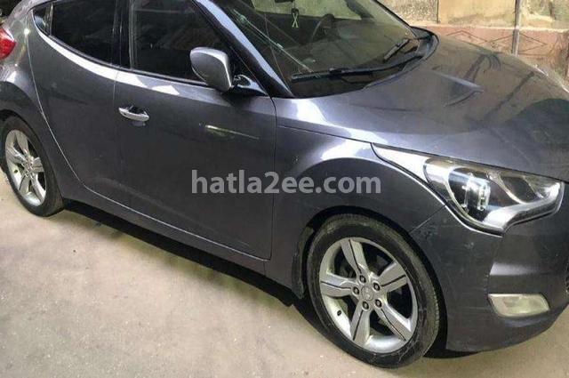 Veloster Hyundai رمادي