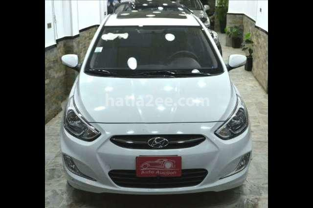 Accent RB Hyundai أبيض