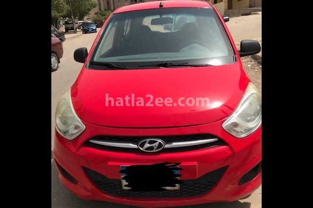 I10 Hyundai Red
