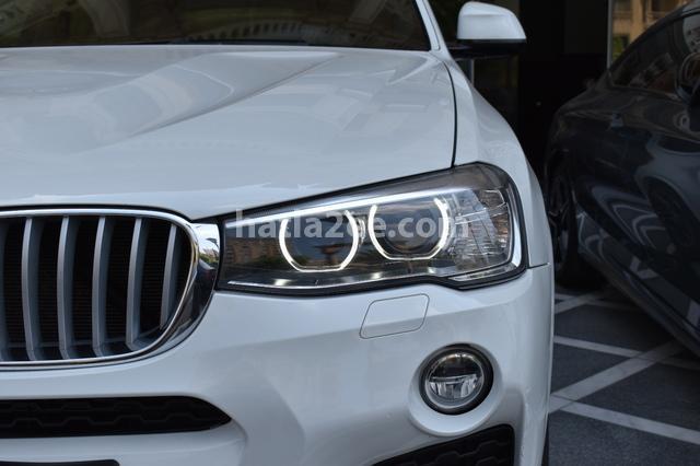 X4 BMW أبيض