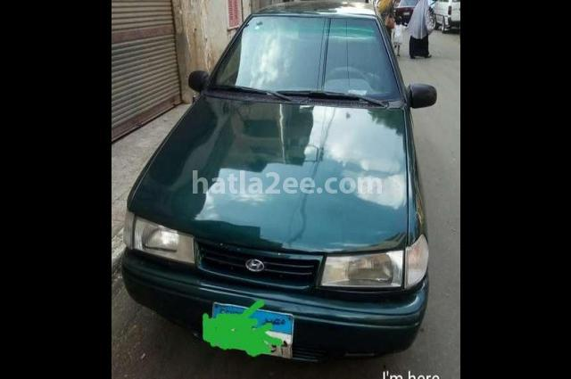Excel Hyundai Dark green