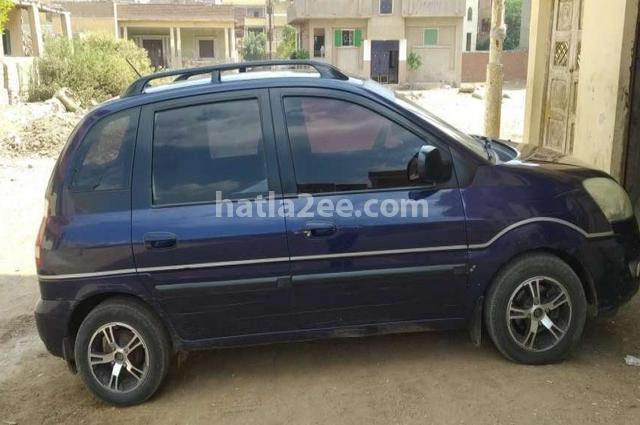 Matrix Hyundai Dark blue