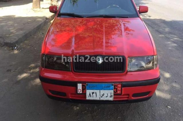 Octavia A4 Skoda Red