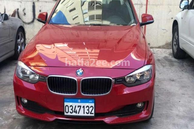 328 BMW احمر غامق